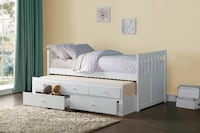 TWIN TRUNDLE BED 2397 mi