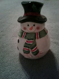 Free snowman cookie jar  Barrie, L4M
