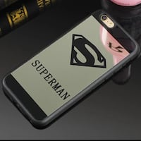 Iphone 6 plus cover superman nera specchiata Adria, 45011