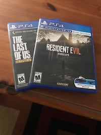 two Sony PS4 game cases Boulder, 80302
