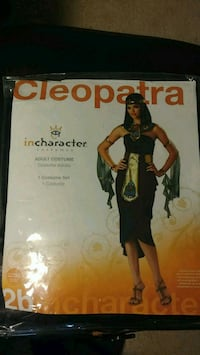 Cleopatra Adult Costume Halloween. Excellent Condi Milpitas, 95035