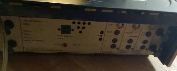 Used Tandberg series 6000 X Tapecorder for sale in Candia