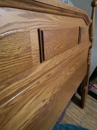 Double/ Full Wooden Headboard
