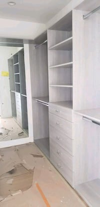 white wooden cabinet with shelf Fontana, 92335