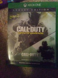 console game call of duty Xbox one  Chesterfield, 23832
