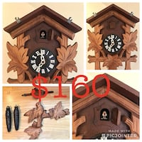 Authentic Locally handcrafted cuckoo clock Ottawa, K1C 2P8