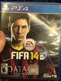 EA Sports Fifa 15 PS4 game case