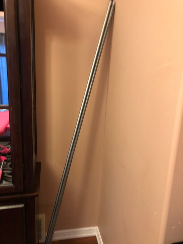 Ikea very long curtain rod that can be adjusted to be smaller  a941abe6-fc44-47a3-8f77-38cf2718155a