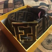 Brown fendi belt Toronto