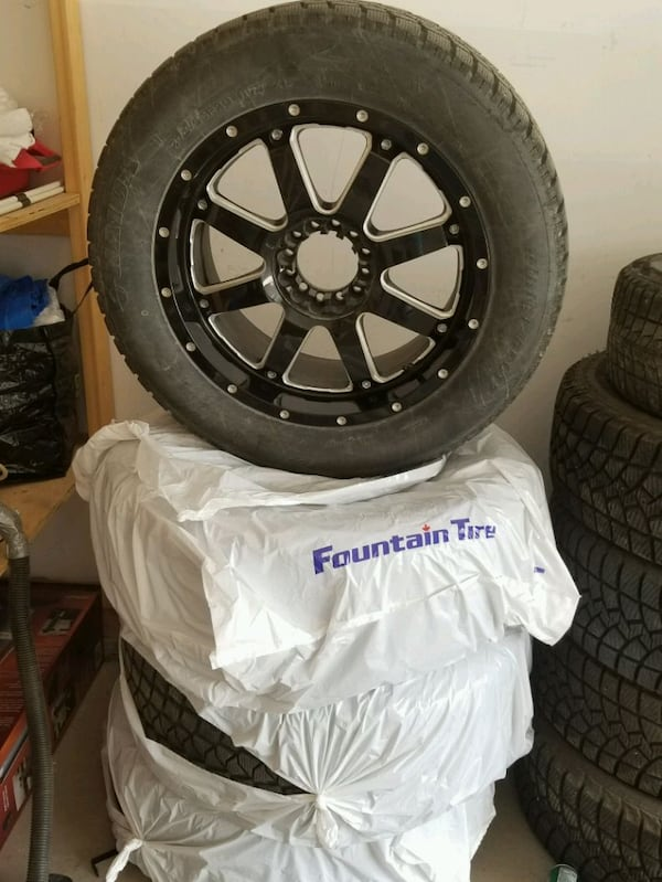 Tires with Rims 1