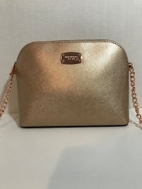 New Michael Kors Rose Gold Done Bag Milton, L9T 4K1