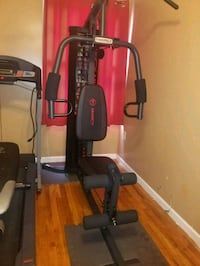 black and gray Weider butterfly machine Jersey City, 07304