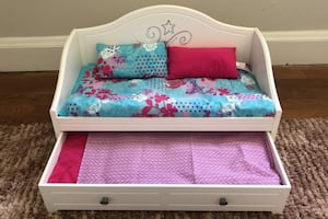 """American Girl Doll 18"""" Trundle Daybed"""