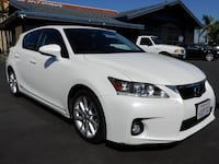 Lexus CT 200h 2012 Orange