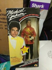 Michael Jackson action figure with box Allport, 16821