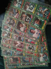 1980s football cards! Melbourne, 32935