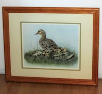 Limited Edition Print Joyce Bridgett Mother Duck & Ducklings Mississauga