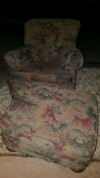 free chair and ottoman in good shape