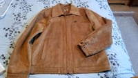 mens size medium italian leather jacket  Cambridge