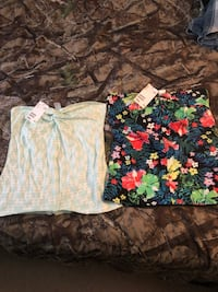 Tube tops size small, both brand new never worn  Milton, L9T 4C1