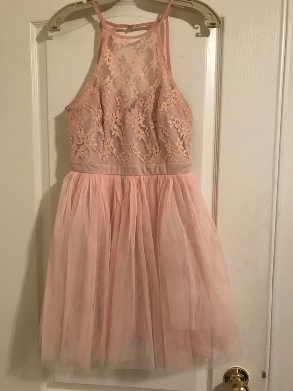 Pretty Lace & Tulle Dress