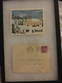 old autographs, grandma Moses, Elinor Roosevelt, and many 1950-1960.
