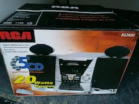 RCA 5 CD CHANGER AM FM STEREO  San Leandro