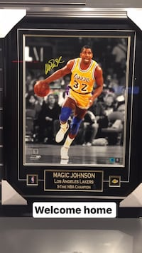 Magic Johnson trading card
