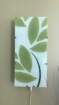 Leaf pattern wall lamp Toronto, M5J 3B1