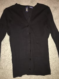 black button-up cardigan North Dumfries, N1R