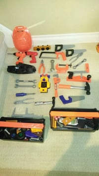 Black and Decker Tool Kit for kids  Markham, L3T 6M8