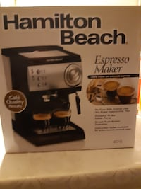 Espresso Maker ( Hamilton Beach )  SCARBOROUGH