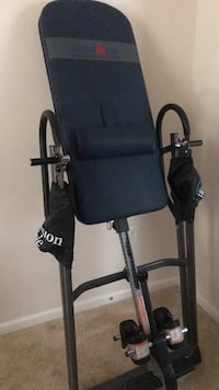 New inversion table. Just bought, now moving. Won't have the space