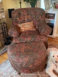 Oversized chair and ottoman  Bryn Mawr, 19010