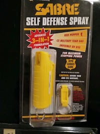 New Sabre Self Defense Spray  GREAT stocking  Mount Airy, 21771