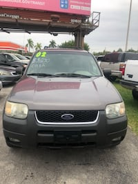 Ford - Escape - 2002 Miami, 33132