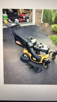 yellow and black push mower Fairfax, 22032