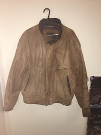 brown leather zippered jacket Chula Vista, 91910