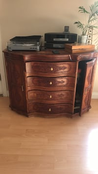 Wood drawer , accent table , furniture Coquitlam, V3K 3X7