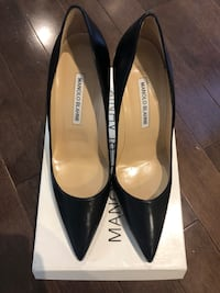 Manolo Blahnik BB pumps 105mm  Never worn. Brand new in box with dustbags  Toronto, M6A 2Z6