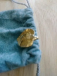 gold plated leaf