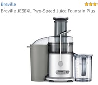 gray and black Breville power juicer Toronto, M4H