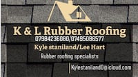 rubber roofing Sutton In Ashfield, NG17 2AB