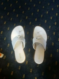 women's white leather sandals Altamonte Springs, 32714
