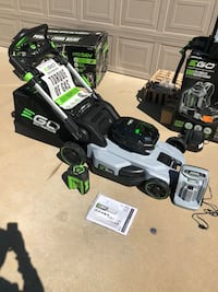 EGO lawnmower self propelled New  with battery 7.5 an Charger brand new $400 Carrollton, 75006