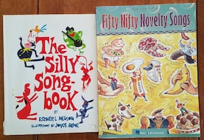 Two Kid's Songbooks