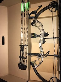 Bear compound bow 183 mi