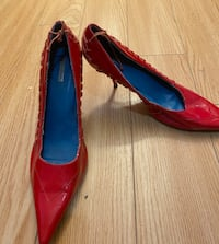 Red shoes size 10 vintage