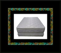 Pillowtop mattress with boxspring 52 km