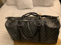 LV Louis Vuitton Black new Duffle Bag Exact 1:1  North Vancouver, V7J 3M2